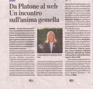 Da Platone al Web articolo La Provincia